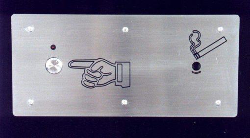 110 Volt Flush Mount Cigarette Lighter (ACL110L)